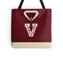 Vancouver Canucks 2014 Heritage Classic Jersey Tote Bag