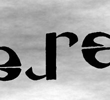Leroy Ambigram by Pete Janes