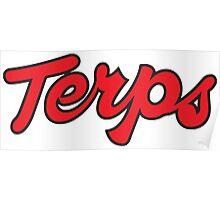 Terps Logo Original Poster