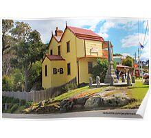 Australian Town Poster