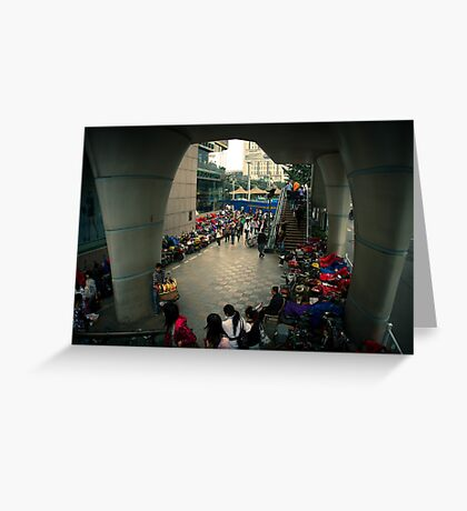 overpass Greeting Card