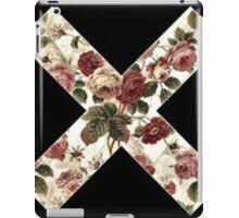 "Floral ""X""  iPad Case/Skin"