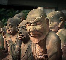 garden gnomes by BrainCandy