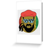 """Major Lazer"" - Circle Graphic  Greeting Card"