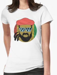 """Major Lazer"" - Circle Graphic  Womens Fitted T-Shirt"