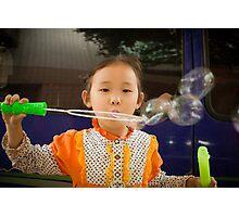 bubbles.. Photographic Print