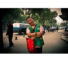 traffic warden Photographic Print