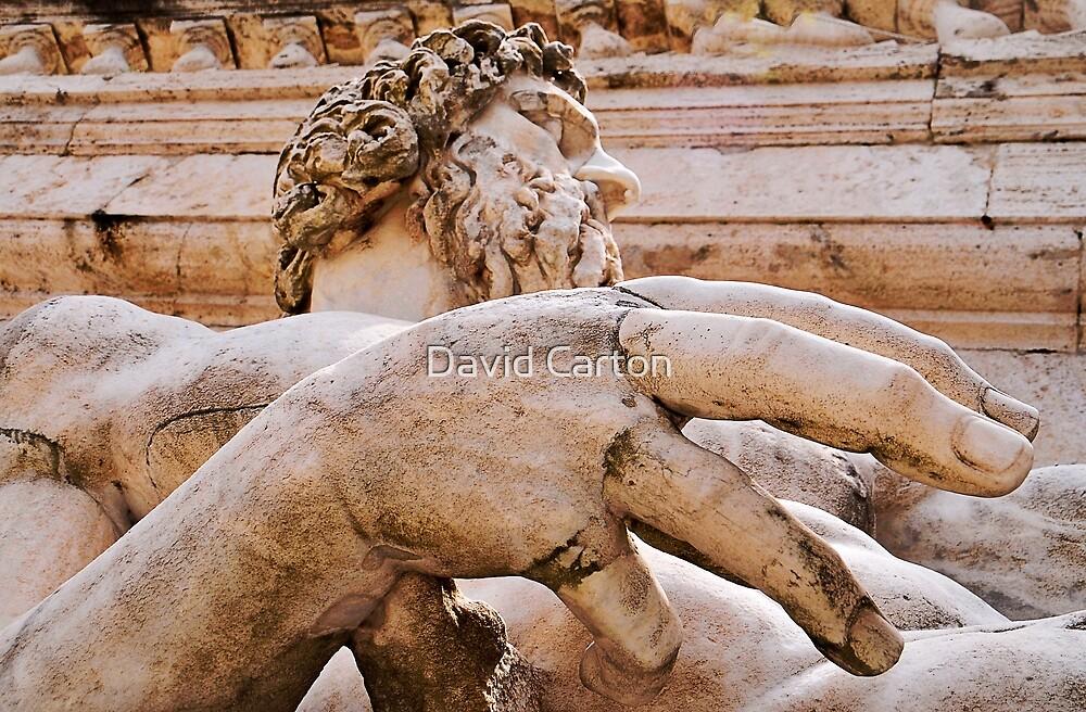 Statue of Tiberinus, Rome by buttonpresser