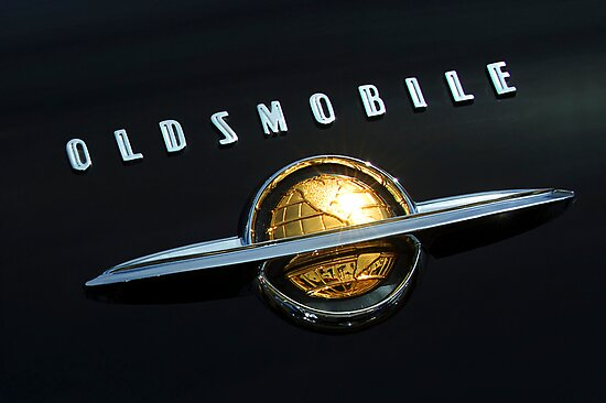 1950 Oldsmobile Rocket 88 Emblem Ornament by Jill Reger