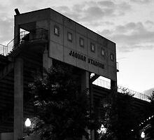 Jaguar Stadium (in black and white) by Kaoss134