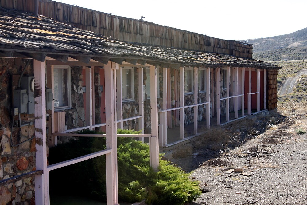 Goldfield Nevada - History from the Past Motel by djackson