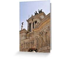 Victor Emmanuel Monument, Rome, Italy Greeting Card