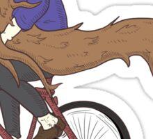 The Bearded Biker Sticker