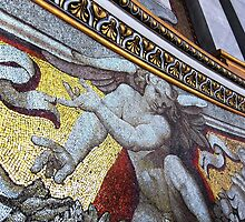 Wall mosaic, St Peter's basilica, Rome, Italy by buttonpresser