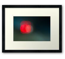 freeway. Framed Print