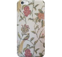Funky vintage wallpaper  iPhone Case/Skin