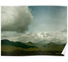 Crawling Clouds And Wide Open Spaces Poster