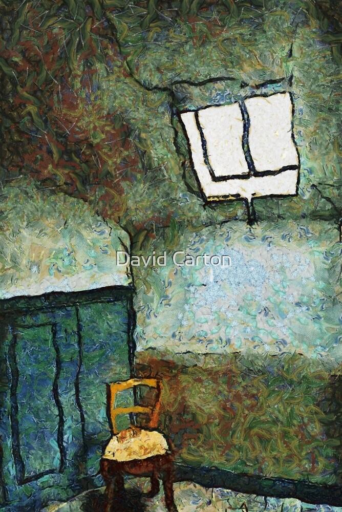 Vincent's room by Vincent by David Carton