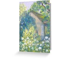 Cow Parsley and Broom Greeting Card