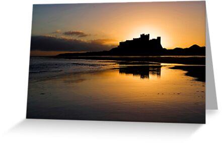 Bamburgh Castle by nigelphoto