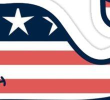 Vineyard Vines America Sticker