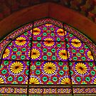 Window of Flowers - Arg of Karim Khan - Shiraz - Iran by Bryan Freeman
