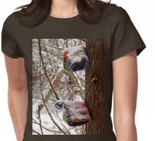 Lost Mittens Womens Fitted T-Shirt