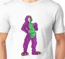 Purple Dino Unisex T-Shirt