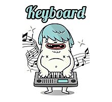 Musician Keyboard player Photographic Print