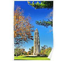 Moser Tower and the Naperville Carillon Poster