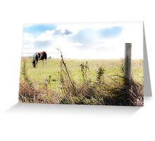 Country Ambiance Greeting Card