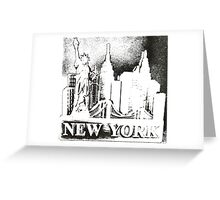 New York, NY Greeting Card