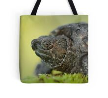 Baby Snapping Turtle close-up. Tote Bag