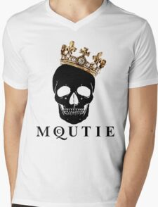 what a McQUTIE! Mens V-Neck T-Shirt