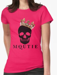 what a McQUTIE! Womens Fitted T-Shirt