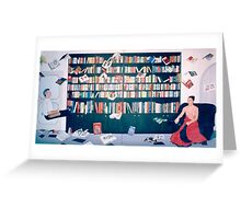 Dream of Knowledge Greeting Card