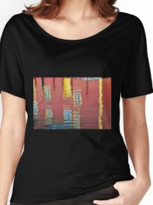 Abstract, Bergen, Norway Women's Relaxed Fit T-Shirt