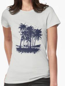 Palm Sunset - Hand drawn T-Shirt
