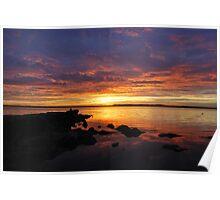Sunrise / Australia.. Poster