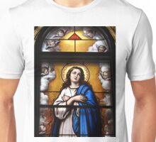 Stained glass window, Wexford Friary, Ireland Unisex T-Shirt
