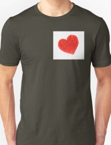 Candle Sprinkles Heart Shapes T-Shirt