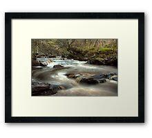 West Beck, Goathland Framed Print