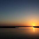 Sunset in the Pilbara by Suellen Cook