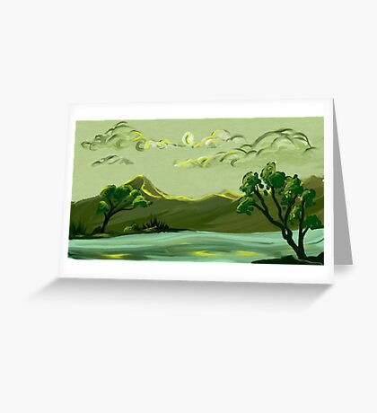 Calm Greeting Card