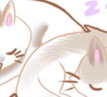 Cat Naps Sticker