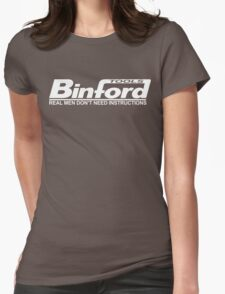 Binford Tools Home Improvement Womens Fitted T-Shirt