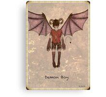 Demon Boy Canvas Print