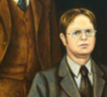 Dwight and Mose Schrute Sticker