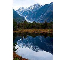 Glacier Reflections Photographic Print