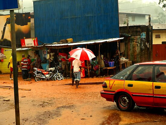 Rain in Freetown II by heinrich